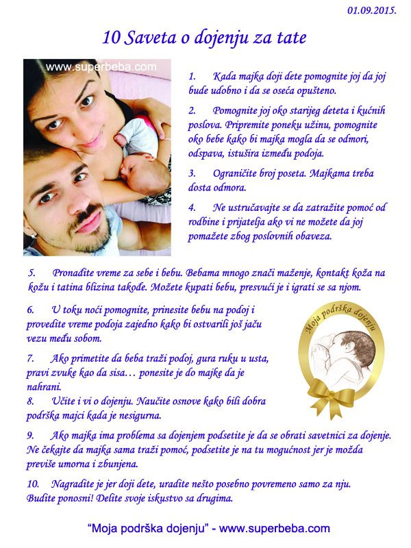 10 saveta za tate